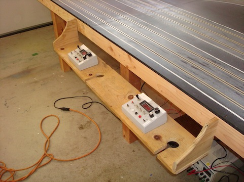 archives for my wood track philippe s slot cars site reuse the old driver stations will need to build a third one